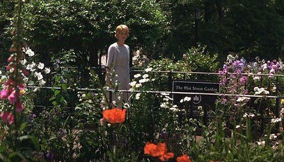 Elegant 91st Street Garden, Riverside Park (Between West 90th U0026 91st Street)  Manhattan. Youu0027ve Got Mail