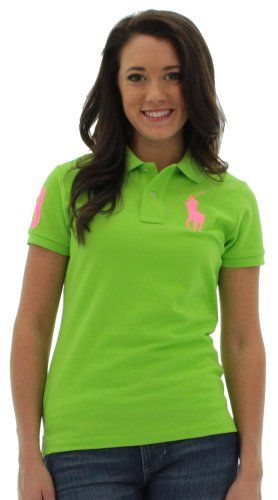 21356a30 Polo Ralph Lauren Big Pony Women's Polo Shirt Skinny $69.99 | Style ...