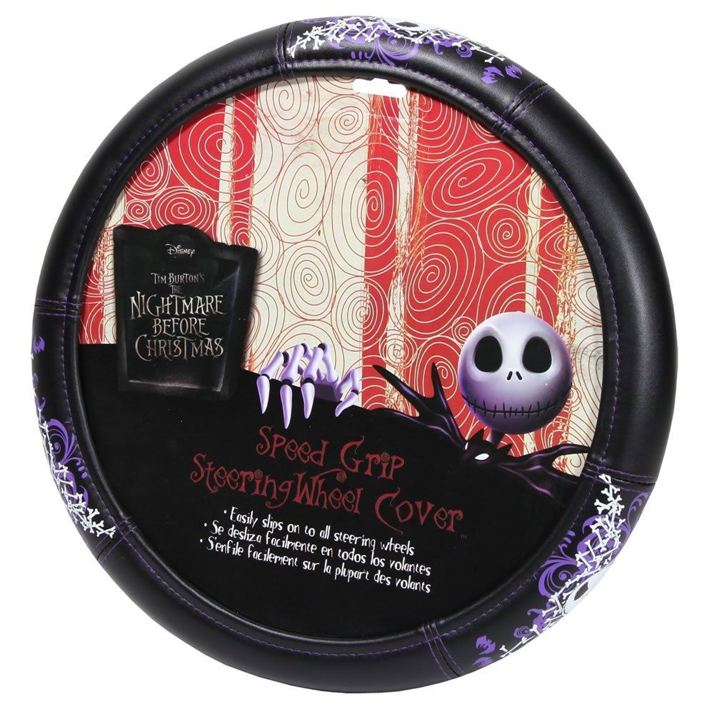 3pc Nightmare Before Christmas Front Rubber Mats and