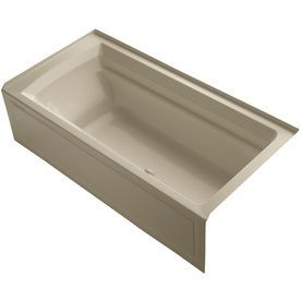 Kohler Archer 72-In L X 36-In W X 20.25-In H Mexican Sand Acrylic Rect