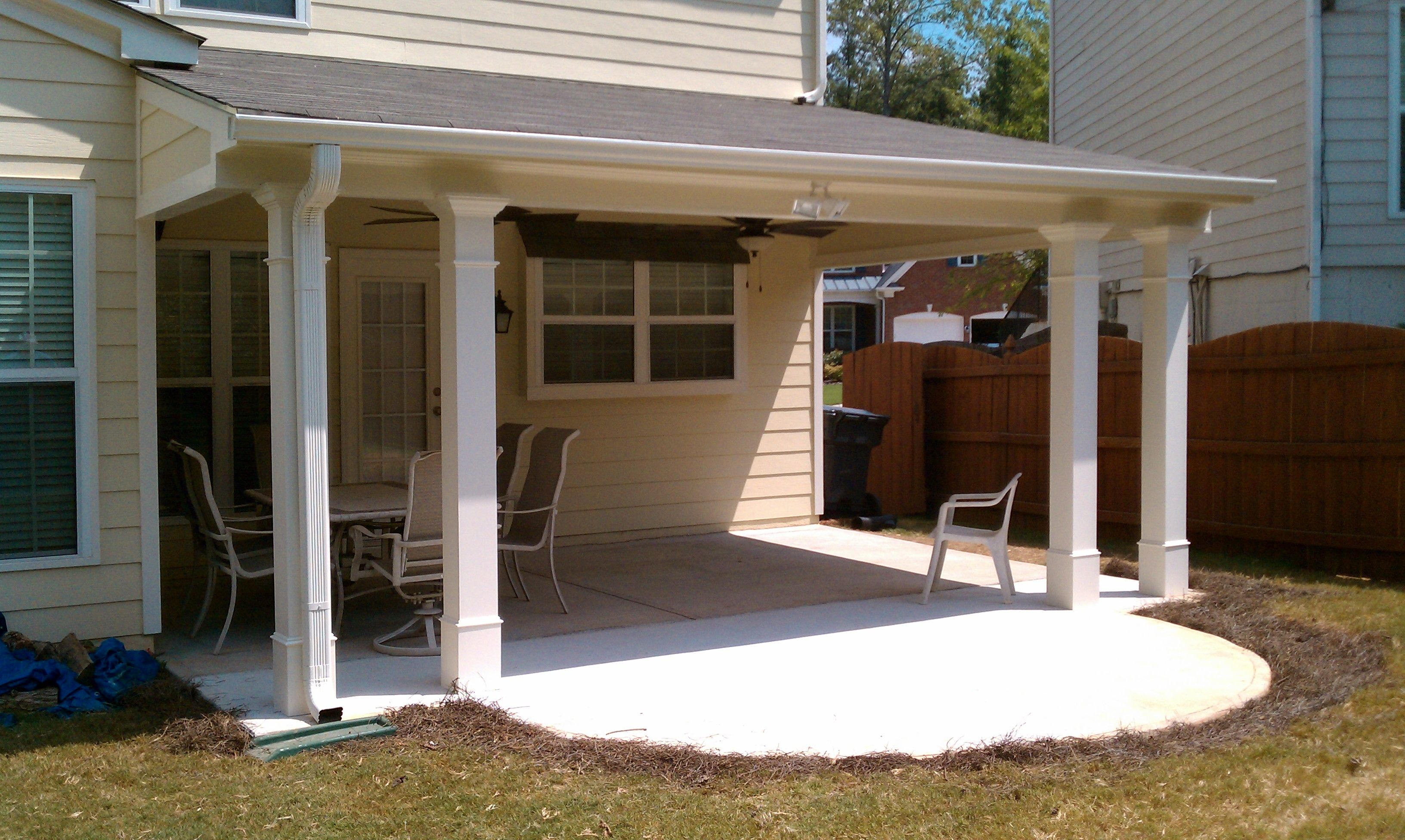 cover for existing patio Patio Covers