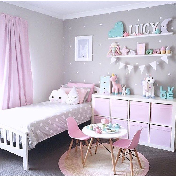 Kids Bedroom Girls Bed Room Ideas, Simple Girls Bedroom, Girls Bedroom  Purple, Girls