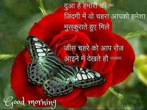 Hindi Good Morning Wishes Greetings Quotes Messages Sms Images