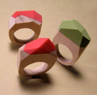 UnaOdd -Lynn wood/clay rings