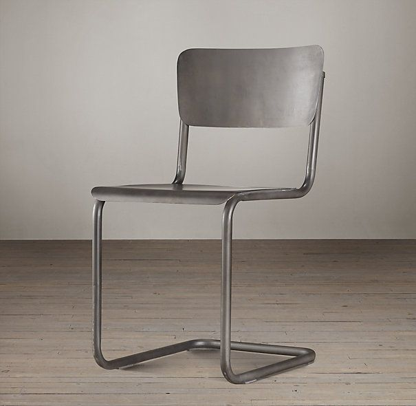 Metal Schoolhouse Chair Metal Chairs Restoration Hardware