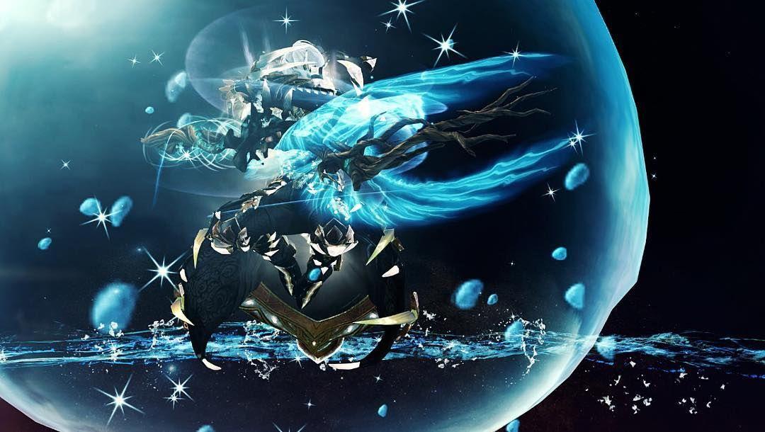 Feel The Ocean S Power Gw2mioino Gw2 Guildwars2 Guildwars Gw2human Gw2elementalist Tempest Weaver Gw2legendary G Guild Wars Guild Wars 2 Mmo