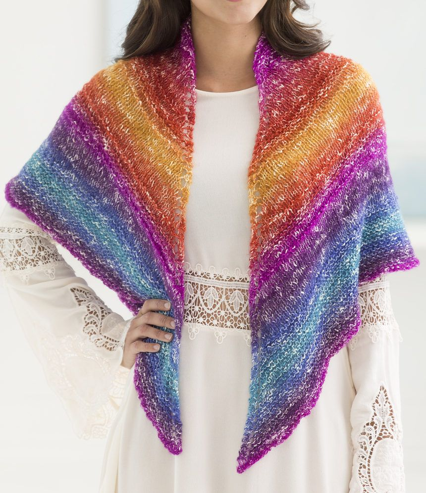 Free knitting pattern for sedona triangle one skein shawl easy free knitting pattern for sedona triangle one skein shawl easy shawl with eyelet increases and bankloansurffo Choice Image