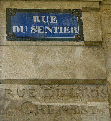 rue du Sentier - Paris 2ème