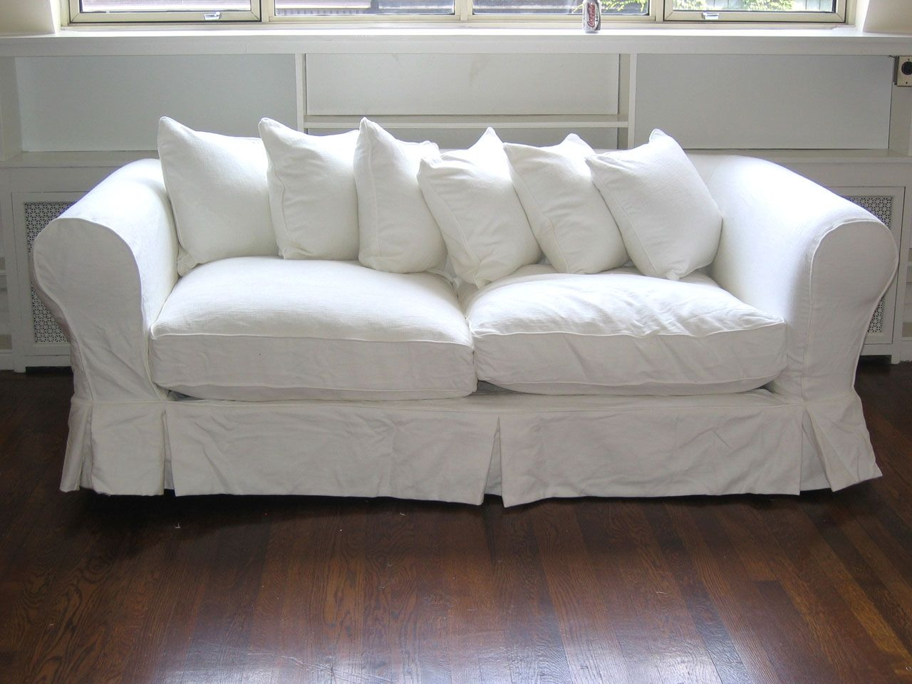 White Overstuffed Sofa Couch And Loveseat Couch Furniture