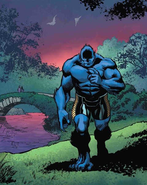 Beast From Uncanny X Men Vol 5 3 Art By Yildiray Cinar Man Thing Marvel Marvel Comic Character Man Beast