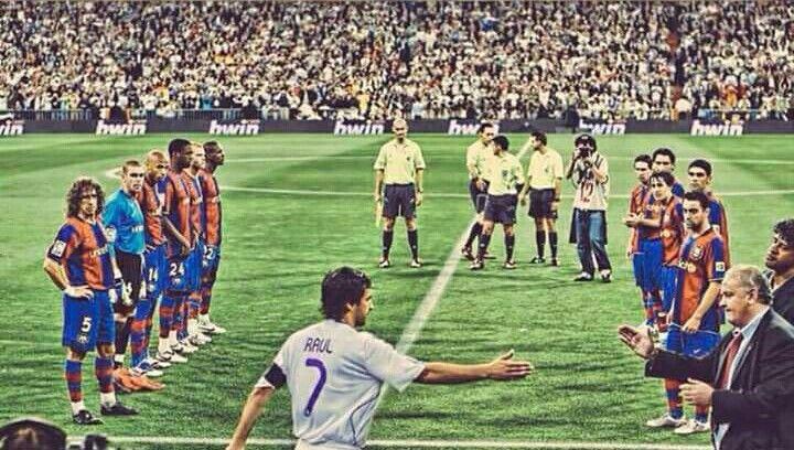 Pasillo al Campeón!! Hala Madrid