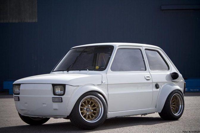 Car Spotlight R1 Powered Fiat 126 Fiat 126 Fiat Fiat Chrysler