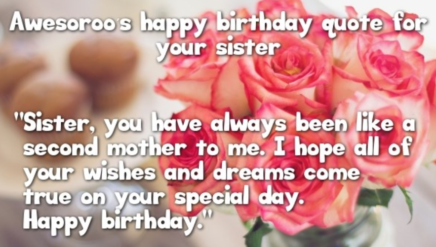 Fine Birthday Wishes For Sister Quotes With Images Happy Birthday Funny Birthday Cards Online Alyptdamsfinfo