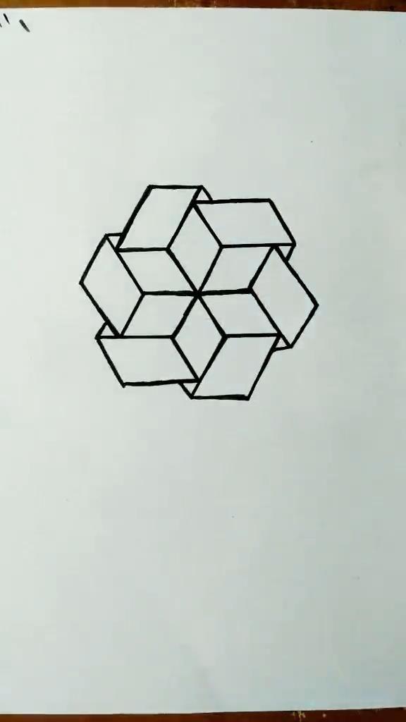 Star Design Drawing