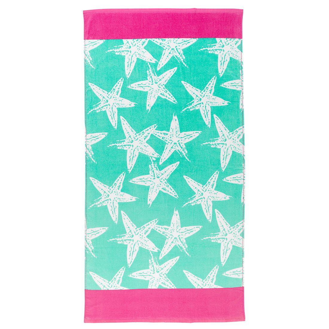 Sea Star Beach Towel Monogram Towels Beach Towel Starfish