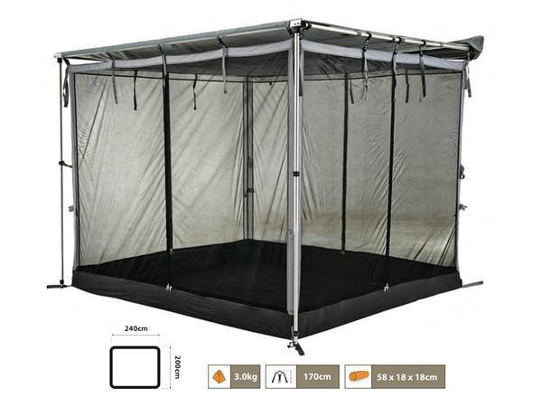 4x4 Awning Mesh Room | Rv shades, Diy awning, Awning