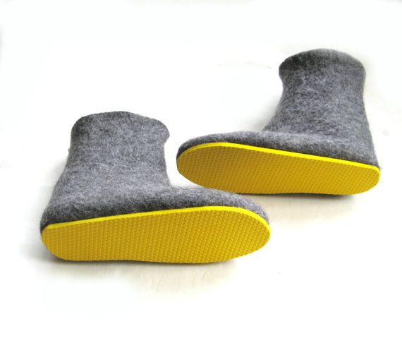 Eco Wool Boots House Slippers Womens Slipper Boots Gift For Mom To
