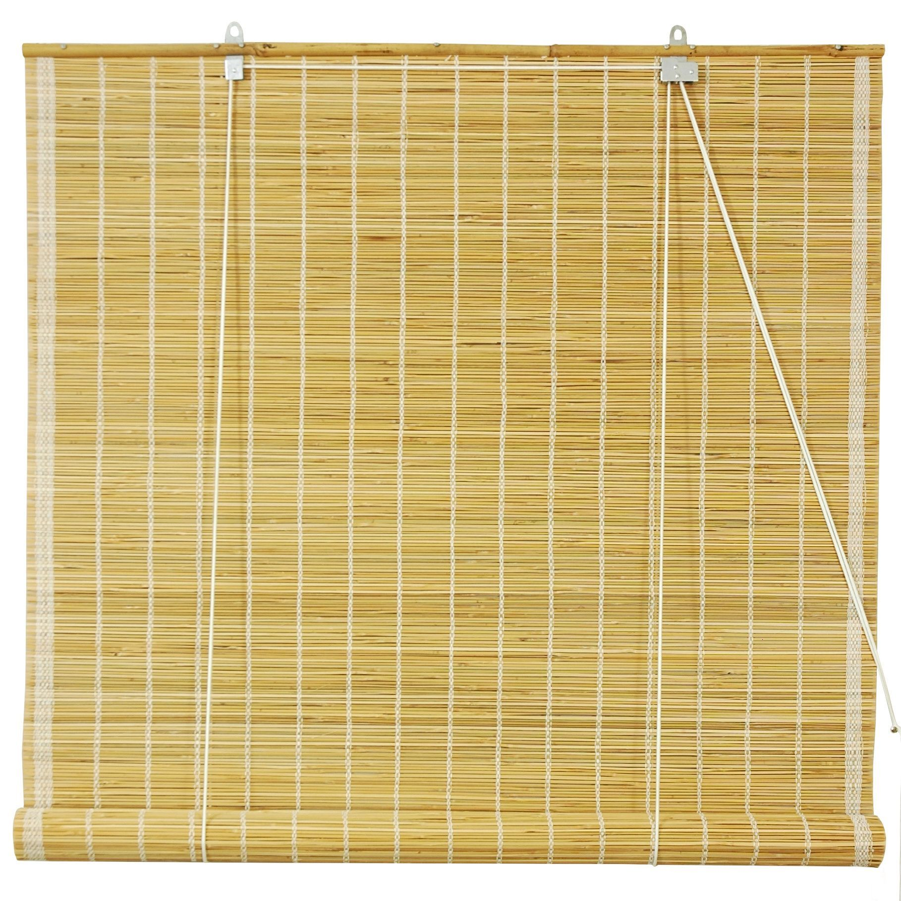 36 inch window blinds - Handmade 36 Inch Natural Matchstick Roll Up Blinds China