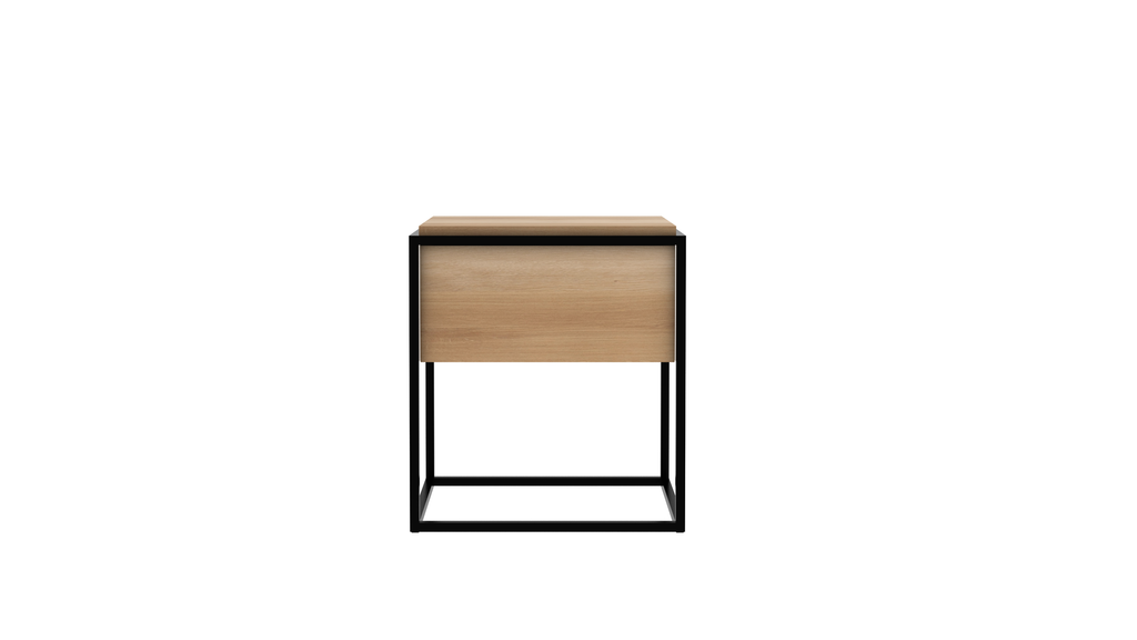 Monolit 1 Drawer Bedside Table from Ethnicraft | Oak