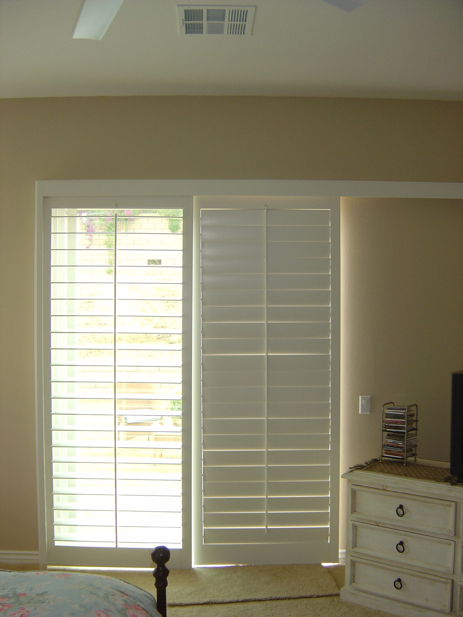 Image Of Simple Window Treatments For Sliding Doors Home Stuff
