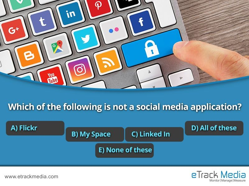 Which of the following is not a social media application
