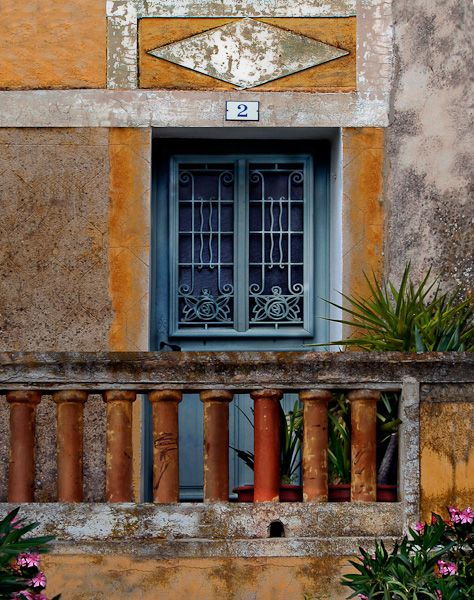 Le Castellet, Var by Barbara Eggermann Windows, doors