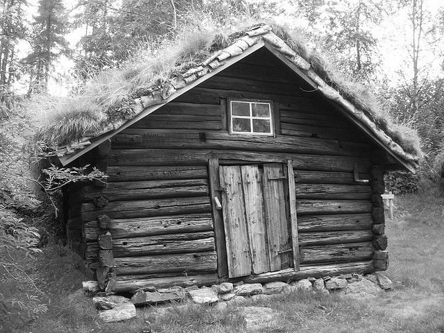 Old Wooden House Scandinavian Architecture House In The Woods Viking House