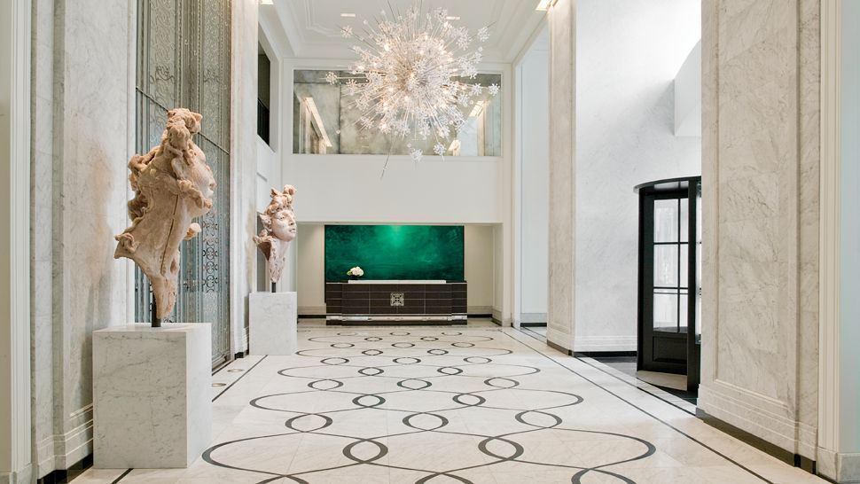 Contemporary Art Deco contemporary art deco lobby |  time with nyc's 'sleep no more