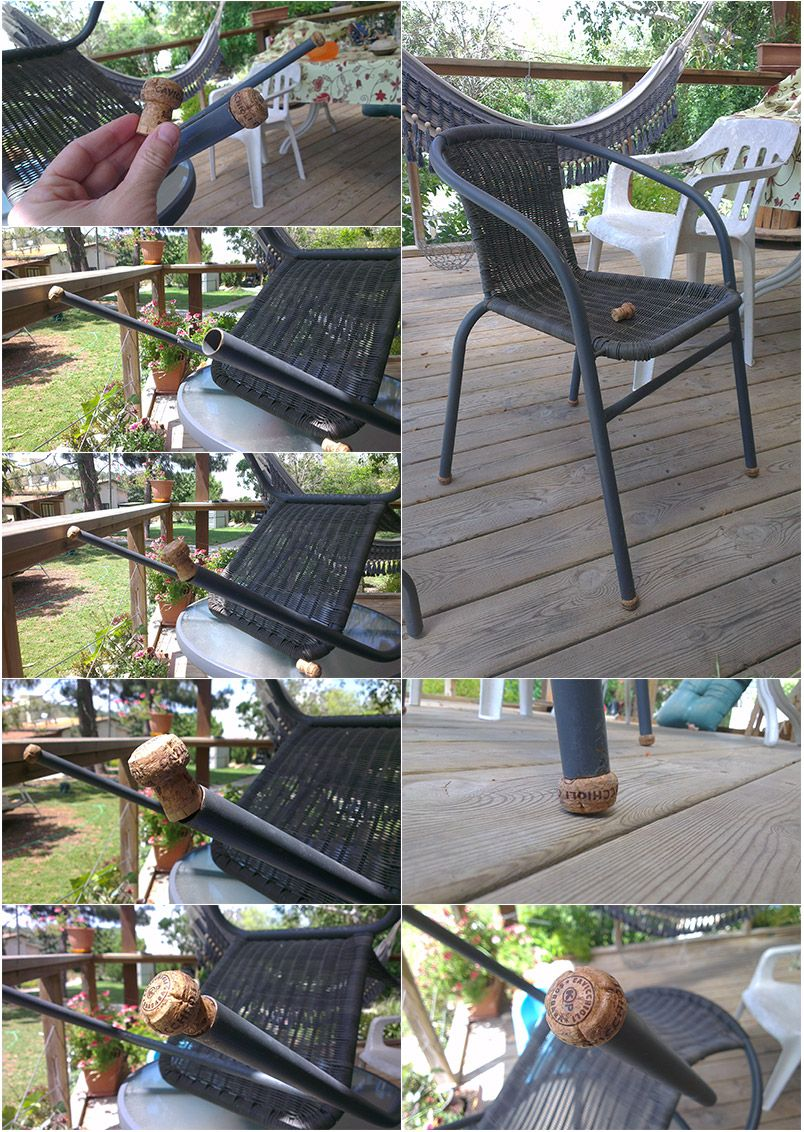 lawn chair cork legs | Lawn chairs, Outdoor tables ...