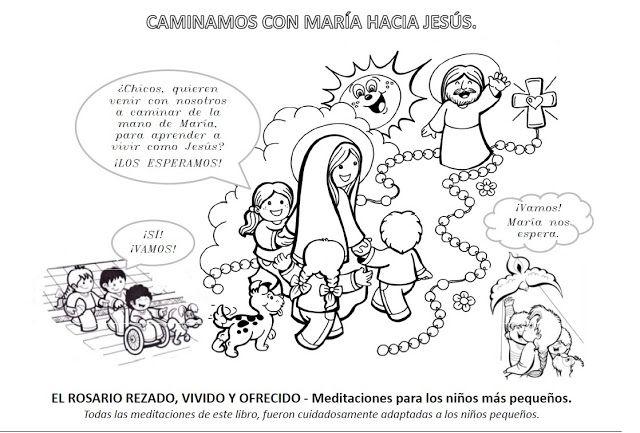 La Catequesis: Recursos Catequesis Santo Rosario para