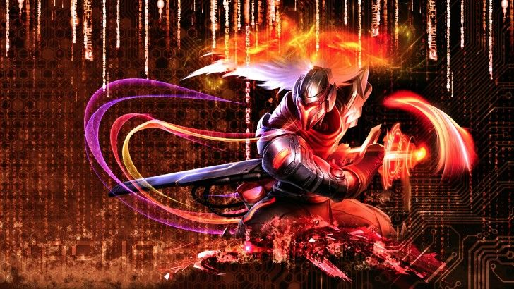 Cyber Ops Project Yasuo League Of Legends Skin 1920x1080