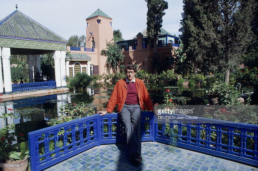 Yves saint laurent in his palace in marrakech pictures getty images the saint ysl pinterest - Maison yves saint laurent ...