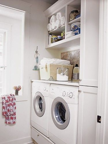 Laundry Room Over The Washer Shelving Unit Laundry Room Design Vintage Laundry Room Small Laundry Rooms