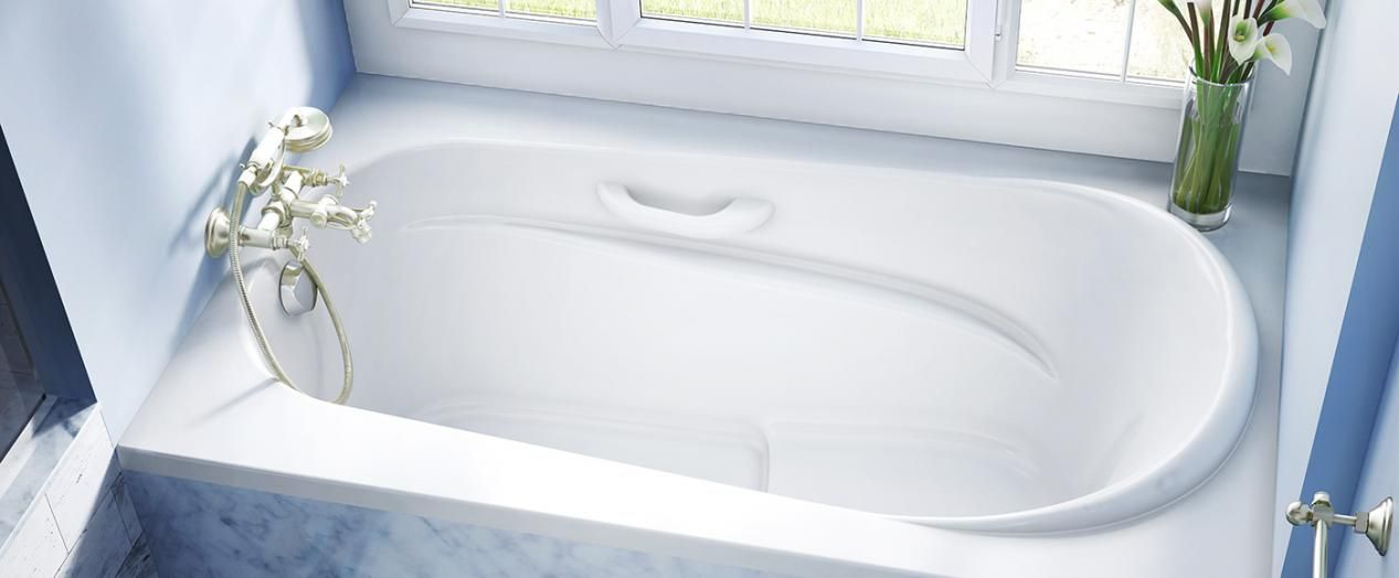 Bainultra Amma® 6636 alcove drop-in air jet bathtub for your master ...