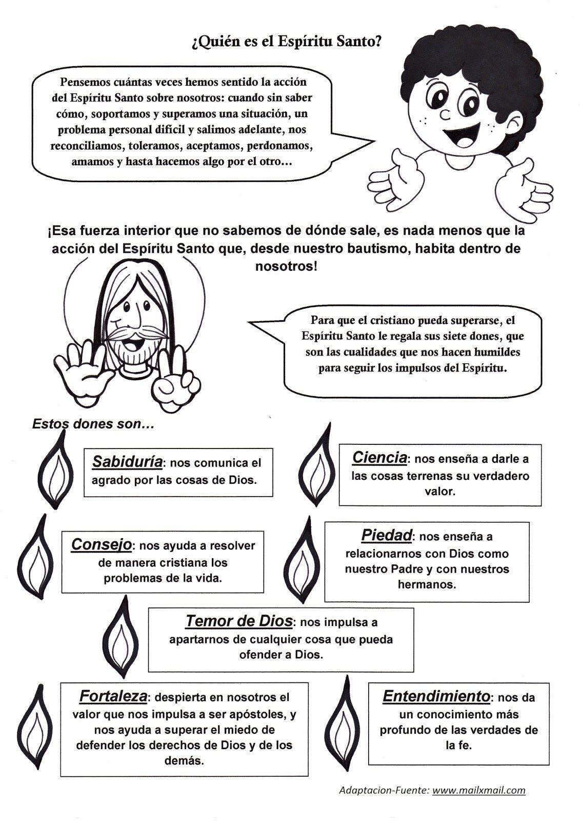 Pin de Nilda Olivencia en Religión | Pinterest | Catecismo ...