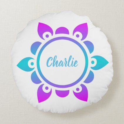 Colorful Decorative & Throw Pillows | Zazzle