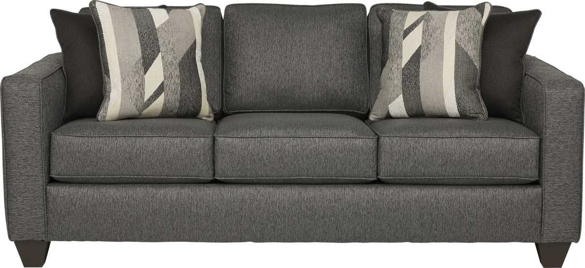 Ridgewater Graphite Sofa Rooms To Go Sofa 82 Long Love Seat
