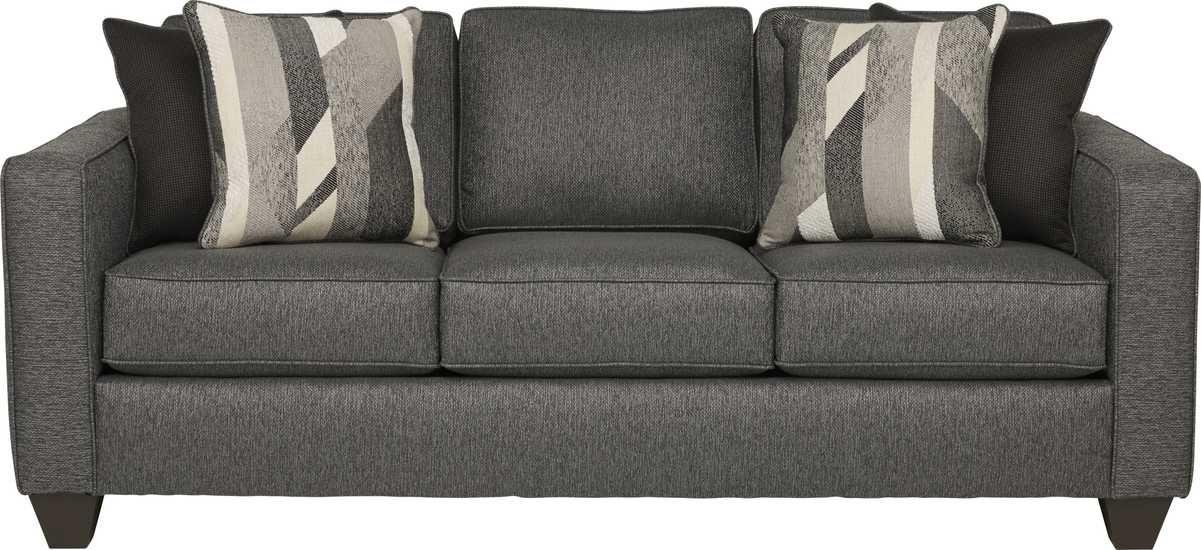 Ridgewater Graphite Sofa Sofa Blue Leather Sofa Living Room Sofa #rooms #to #go #living #room #sets #leather