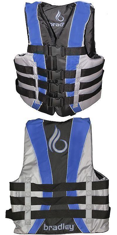 Life Jackets and Preservers 15262: Bradley Adult Xxl 3Xl Life Jacket Fully Enclosed Coast Guard Pfd Ski Vest New -> BUY IT NOW ONLY: $34.88 on eBay!