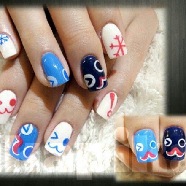 """little penguin #nail #nails #fashion #nailart #beautiful #cute #love #art #beauty #girl #style #naildesign #polish #instagood #gliter #nailpolish #ногти…"""