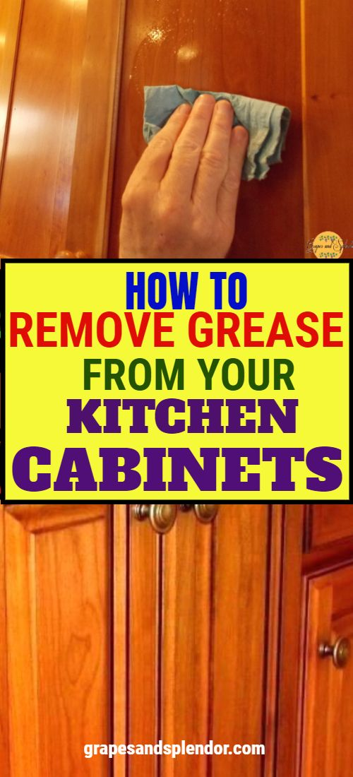 How to clean and remove grease from your wooden kitchen ...