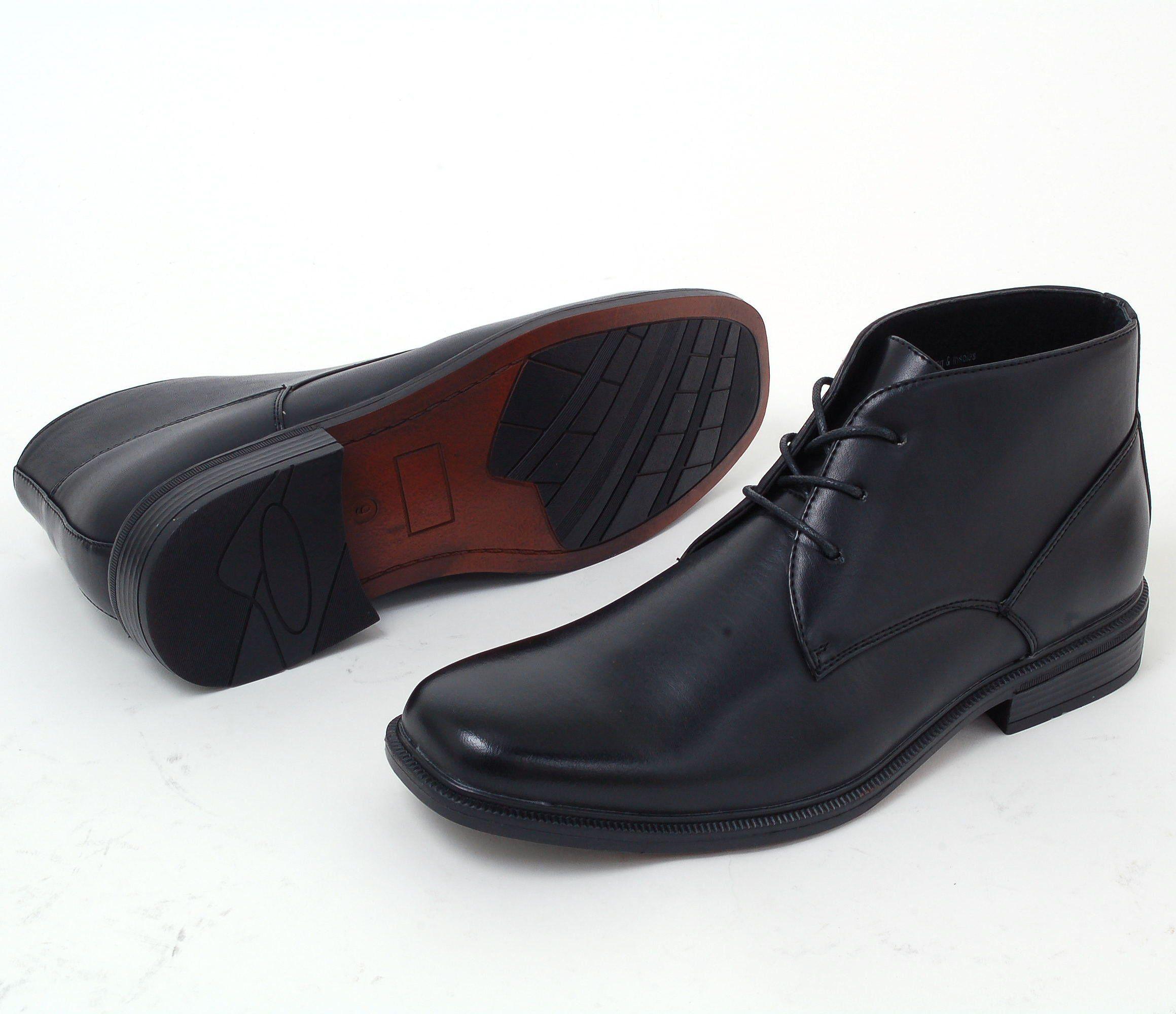 f4b1c40aef8db Mens Black Leather Dress Shoes Amazon | Saddha