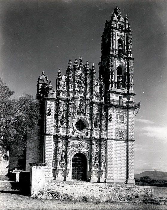 Templo de San Francisco Javier Tepoztlán, Estado de México