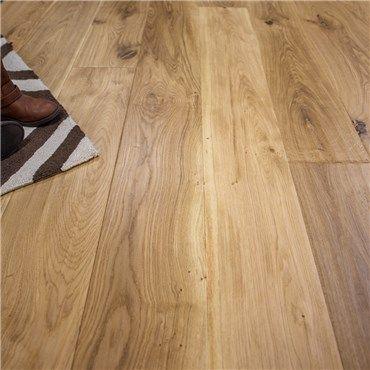 Natural European French Oak Prefinished Engineered Wood Floors