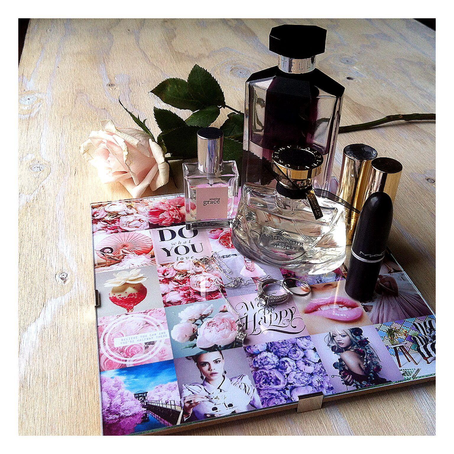 Cute decor detail #pink #perfume #hisandhers