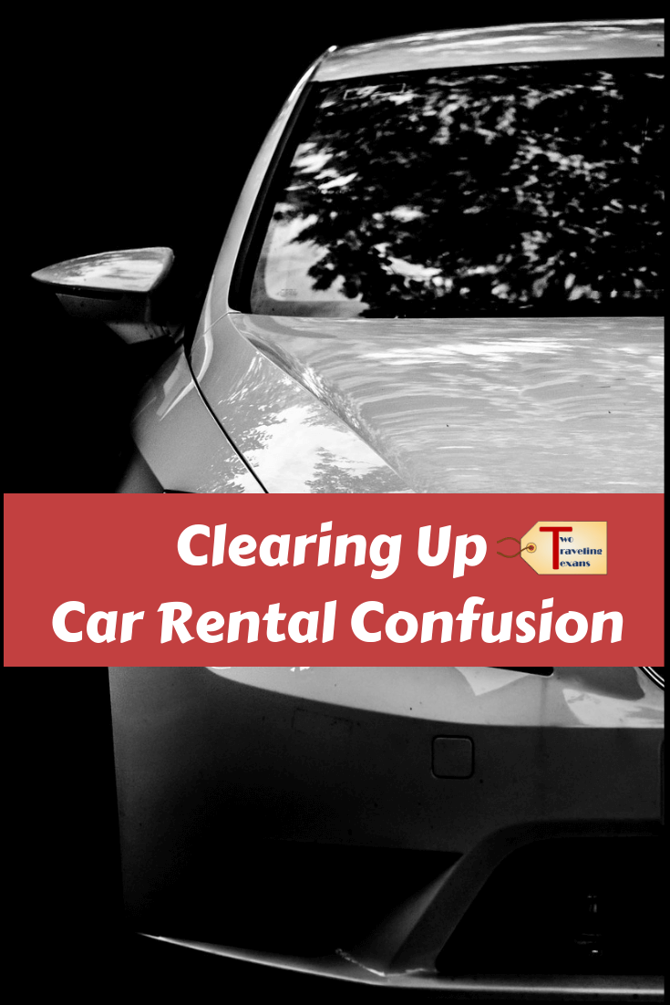 Clearing Up Car Rental Confusion