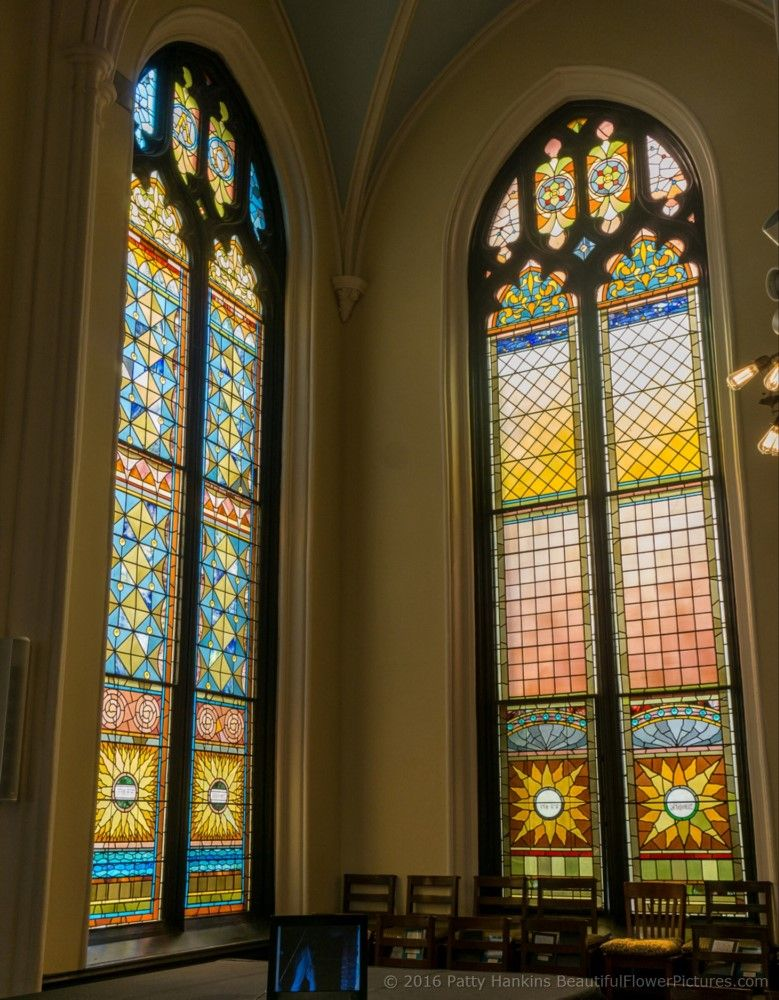 Stained Glass, Unitarian Church, Charleston, SC © 2016 Patty Hankins