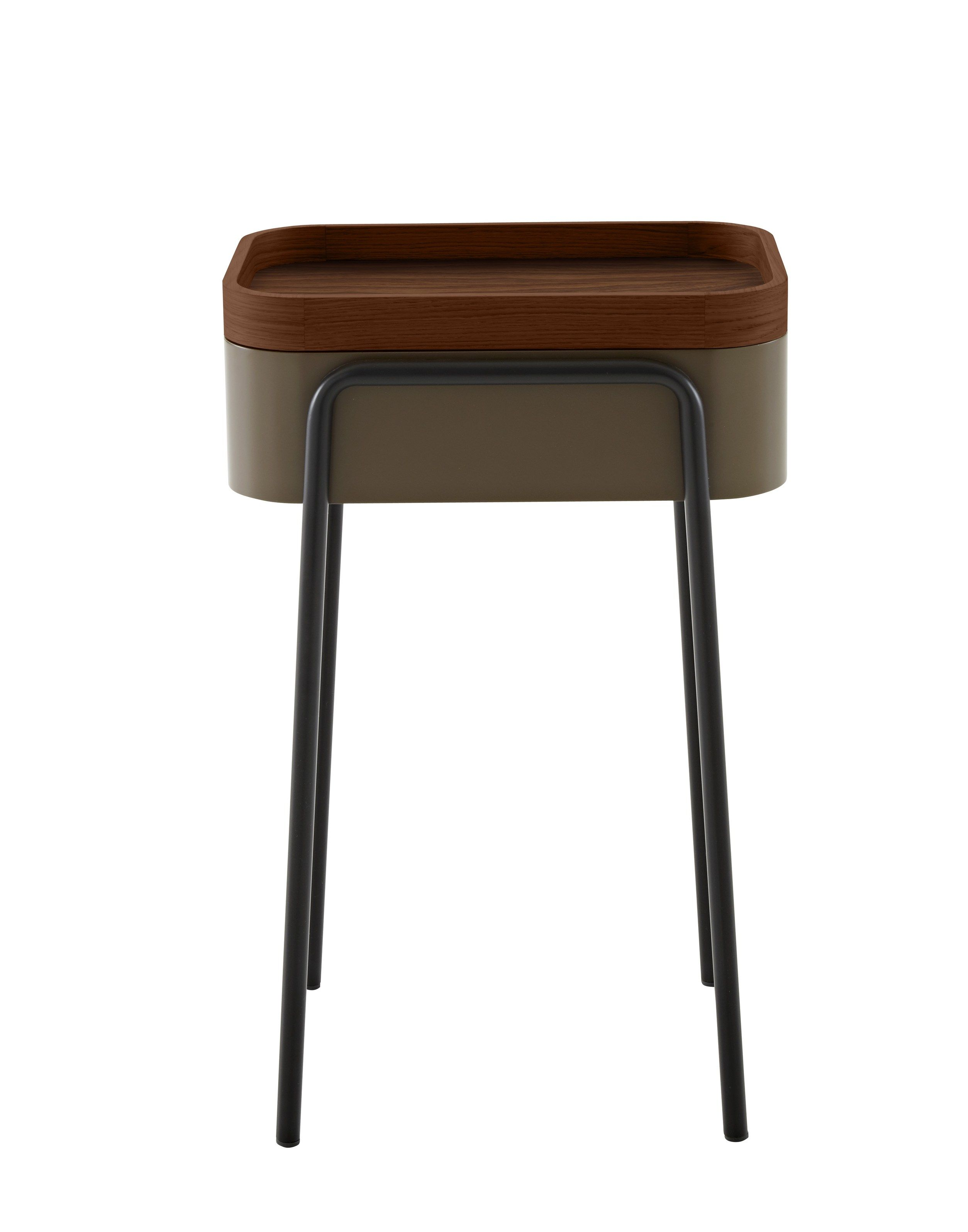 Wooden Side Table Designs Wooden Coffee Table Bedside Table Couliss By Roset Italia Design
