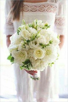 Bouquet Sposa Total White.Bouquet Total White 19 Bouquet Matrimonio