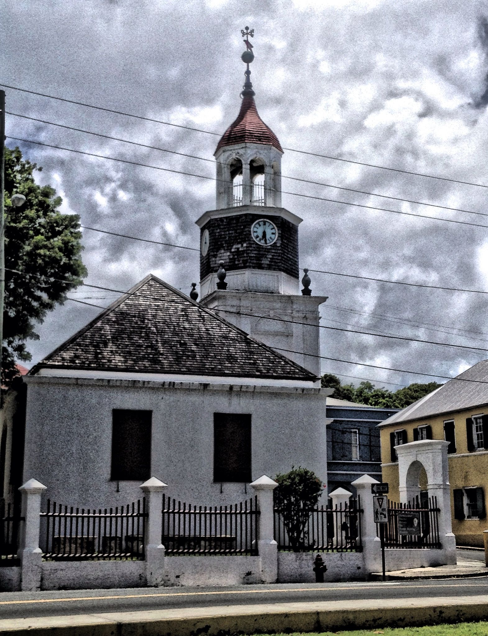 Steeple Building (1753), Christiansted National Historic ...